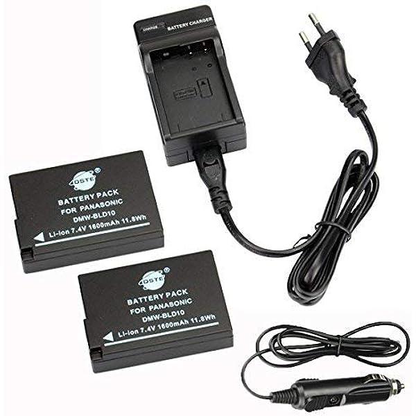 2 Pack Ersatz Batterie Und Dc115e Reise Ladegerät Compatible Für Dmw Bld10e Lumix Dmc G3
