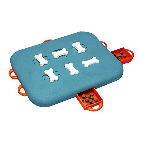 Langsame Fütterung Hundenapf,Anti-Schling Napf Hund Pädagogisches Langsames Füttern Und Interaktives Puzzle-Training Toy Dog Casino
