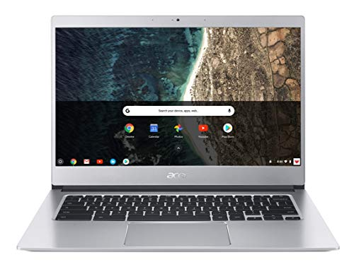"Acer Chromebook 514 CB514-1H-P83S Notebook con Processore Intel Pentium Quad Core N4200, Ram da 4GB DDR4, eMMC 64GB, Display 14"" IPS Full HD LED LCD, Scheda Grafica Intel HD 505, Google Chrome, Silver"