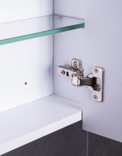 ▷ Galdem CUBE60 Spiegelschrank - holz, 60 x 65 x 15 cm, weiß | {Spiegelschrank holz weiß 73}