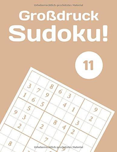 Großdruck Sudoku! 11