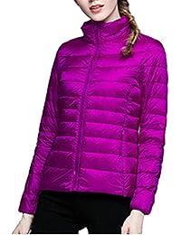 Amazon.it  Viola - Giacche e cappotti   Donna  Abbigliamento 39f77affdd3