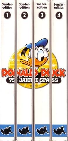 Lustiges Taschenbuch LTB Sonderedition - Donald Duck 75 Jahre Spass - Komplettset mit Band 1 + 2 + 3 + 4 Aus dem Leben eines Superstars von