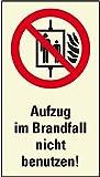 LEMAX® PERMALIGHT plus Verbots-Kombi. Aufzug im Brandfall ...