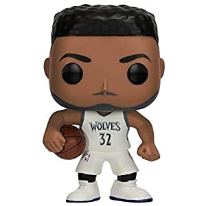 Funko Pop Karl-Anthony Towns Minnesota Timberwolves camiseta blanca (NBA 31) Funko Pop NBA