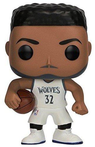 Funko Pop Karl-Anthony Towns Minnesota Timberwolves camiseta blanca (NBA 31) Funko Pop NBA