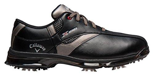Callaway Herren X Nitro Golfschuhe Schwarz (Black/BlackBlack/Black)