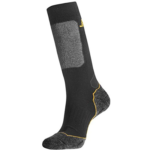 snickers-wooltech-calcetines-largos-wooltech-negro-gris-talla-46-48