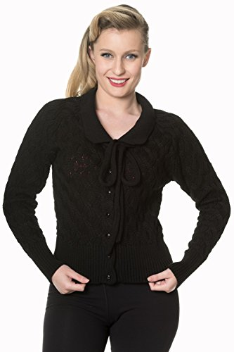 Banned cristallo Air Cardigan Charcoal