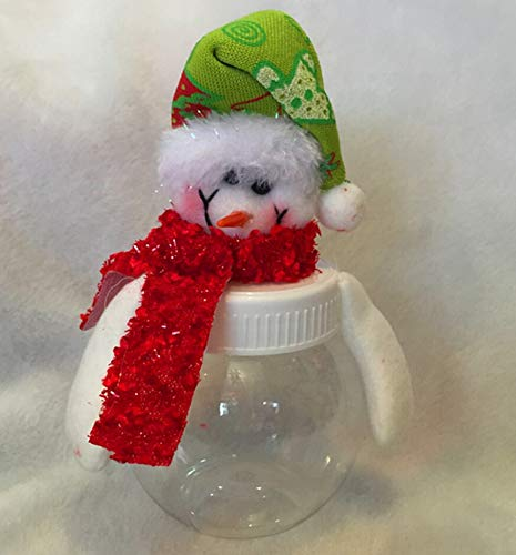 Food Jar - Christmas Clear Plastic Santa Elk Cookie Candy Storage Bottle Bags Sweet Party Gifts Xmas Children - Bottles Storage Jars Storage Bottles Jars Plastic Candy Glass Cookie Food Bo - Jar-cookies Glass