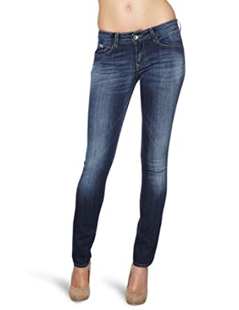 Gas Jeans Beautiful W179 Slim Womens Trousers Basic,Medium Blue W26INxL32IN