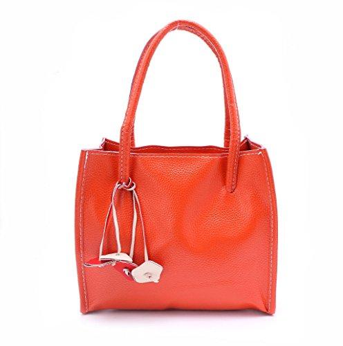 Dairyshop Sacchetto di Hobo della borsa del messaggero delle borse delle donne di modo (giallo) arancio