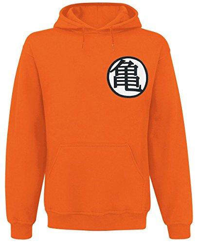 Dragon Ball Z Symbols Kapuzenpulli orange L