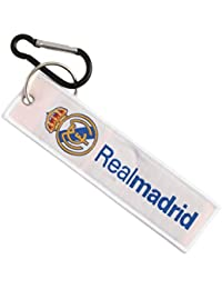 Techpro Premium Quality Cloth Locking Keychain With Doublesided Realmadrid Design