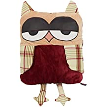 geekbuzz bho almohada manta de peluche manta cojn de viaje para avin coche oficina casa relajante