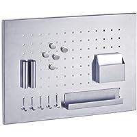 Zeller 11125 Pannello magnetico in acciaio INOX