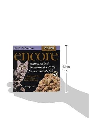 Encore Cat Food Tins 70 g (pack of 18)