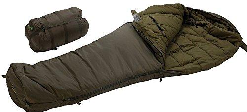 Carinthia Brenta Armeeschlafsack Winter Schlafsack Grösse L, Reißverschluss Links