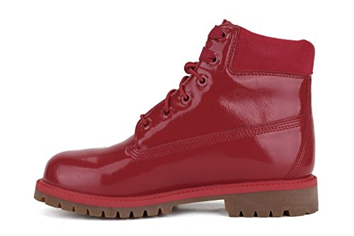 Boot Timberland junior A151B 6 IN PREMIUM BOOT WP Rouge - Rouge