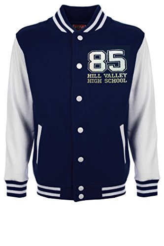 "Back to the Future Flux Capacitor Film "", Varsity-Jacke-xxl (s)"