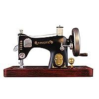 JUANJUAN Hierro Antiguo Grande máquina de Coser Modelo Tienda de Ropa decoración de ...