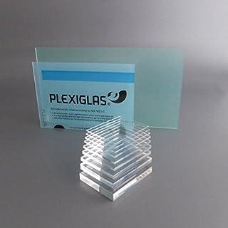 lobotec-acryl PLEXIGLAS Zuschnitt Acrylglas Zuschnitt 2-20mm Platte glasklar Top (15 mm, 250 x 250 mm)