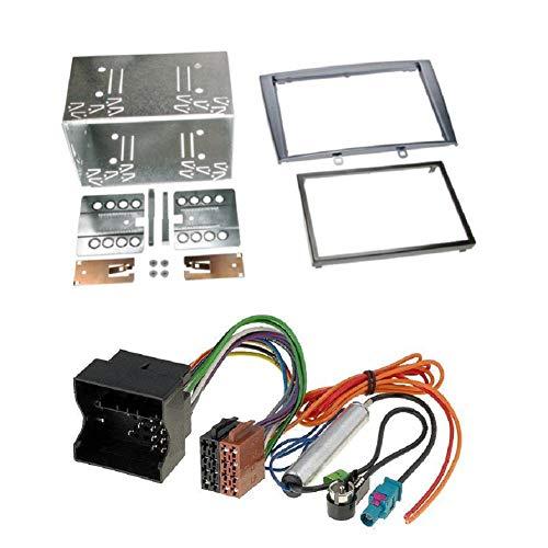 ADNAuto 53599 Kit Adaptateur 2Din Ap07 + Iso + Fm-avec Cage Autoradio-Kitfac437.2