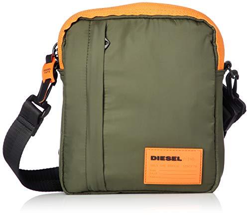 Diesel Herren Discover ME Crossbody Bag Kuriertasche, Grape Leaf, Einheitsgröße
