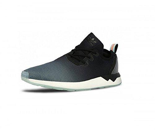 Herren Sneaker adidas Originals ZX Flux Racer Asym Sneakers Core Black