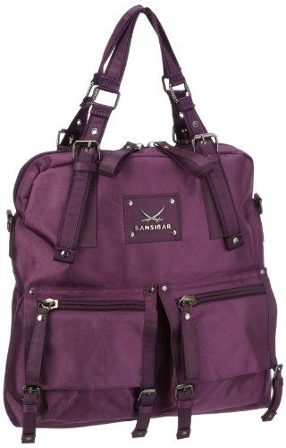 Sansibar Twister Ltd. Edition B-963 TL 38, Sac à main femme violet (aubergine)