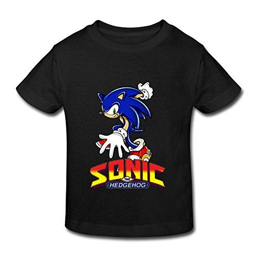 aopo Sonic The Hedgehog ACT T-Shirts für Kleinkinder Unisex (2-6Jahre), Herren, Mehrfarbig (Hedgehog The Halloween Sonic)