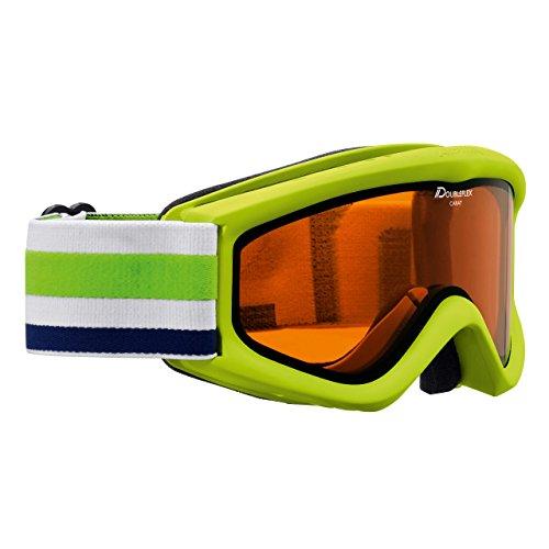Alpina Kinder Ski- und Snowboardbrille Carat DH Limette (404) 0