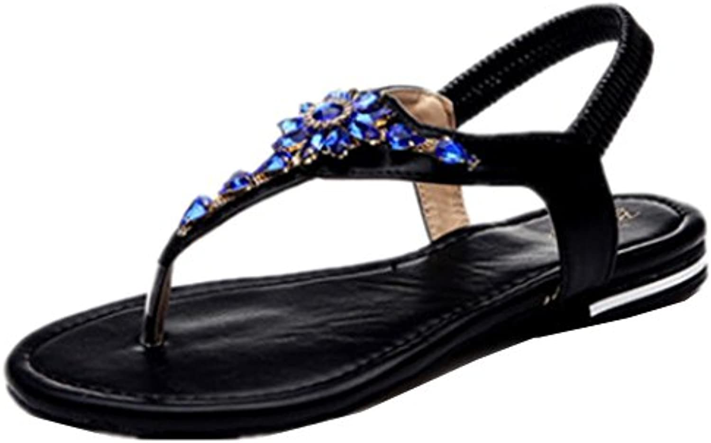 de las mujeres planas deportivo playa sandalia sandalias de los zapatos atléticos casuales , 11 , 36