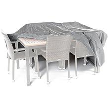 Ultranatura Sylt - Funda protectora de tejido, para conjuntos de mesa y sillas, longitud 230 cm