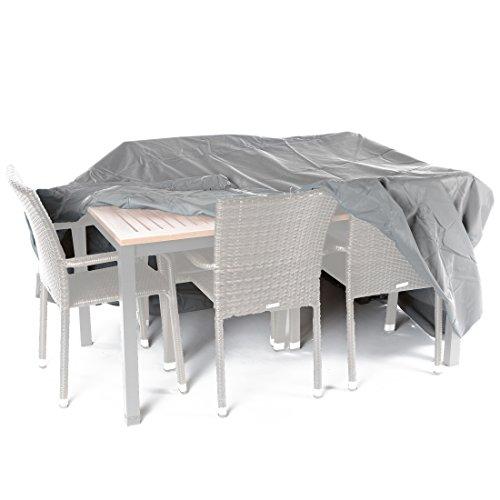 Ultranatura Sylt - Funda protectora de tejido, para conjuntos de mesa y sillas, longitud 235 cm