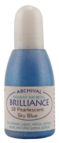 Brilliance Ink Refill .7oz-Pearlescent Sky Blue -