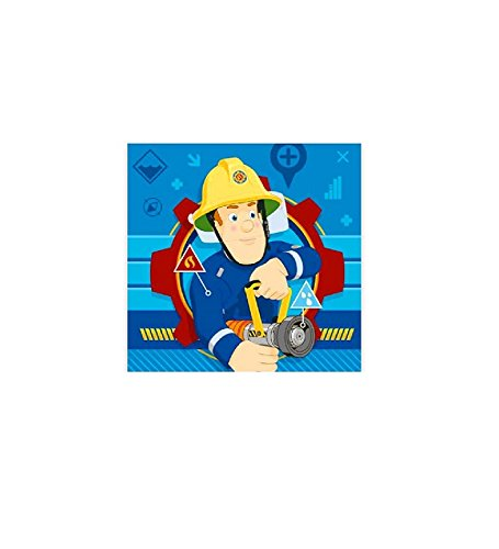 Plaid Fleecedecke Sam Feuerwehrmann 120 x 150 cm fleece Blanket Dekoidee Fireman Sam