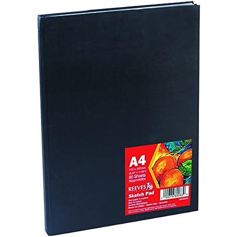Reeves - Cuaderno de esbozo de tapa dura, A4