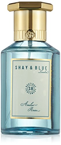 SHAY & BLUE Shay & blau amber rose natural spray duft