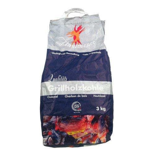 Flammenco-Qualitäts-Grillholzkohle, 3 kg Tüte