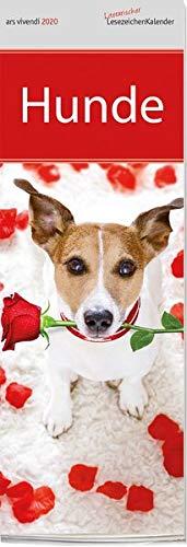 Lesezeichenkalender Hunde 2020: Monatskalender mit 12 Farbfotografien (Hund Kalender)