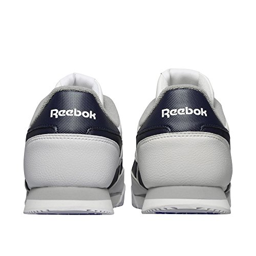 Reebok Royal Rayen 2l, Scarpe da Corsa Uomo Multicolore (Blanco / Azul / Gris (White / Collegiate Navy / Tin Grey))