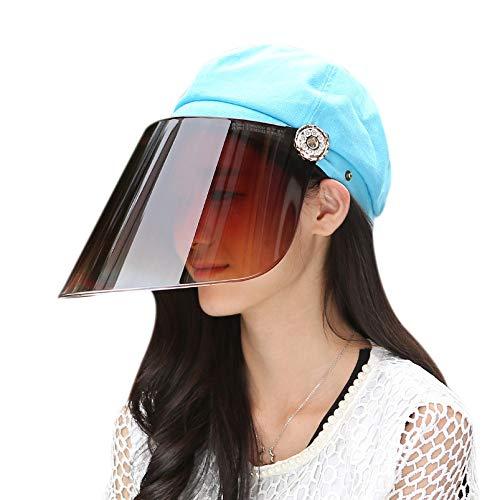 SODIAL Sonnen Schutz Kappe Für Elektrisches Fahrrad Fahren Im Sommer Anti Ultraviolett Sonnen Schutz Kappe Hals Schatten Objektiv Deckel Für Sonnen Schutz