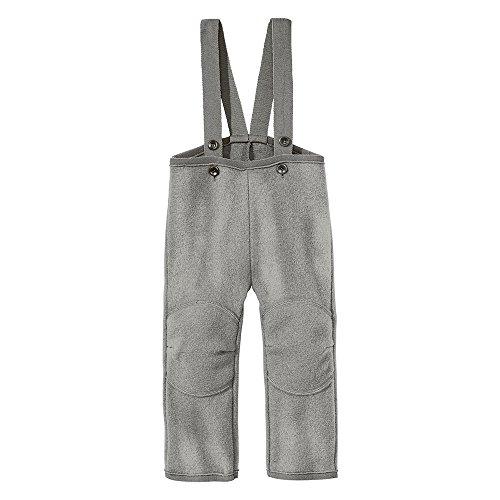 Pantalone in lana cotta con bretelle