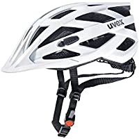 Uvex I-Vo CC Casco de Ciclismo, Unisex Adulto, Blanco, 52-57 cm