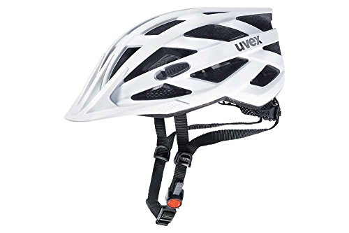 Uvex Erwachsene I-VO CC Fahrradhelm, Weiß (White Mat), 52-57 cm