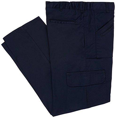 AES s.1480-nct-36/38Tall Poly Baumwolle Combat Stil Arbeit Hosen, 36/96,5cm hoch, große Größe, Marineblau