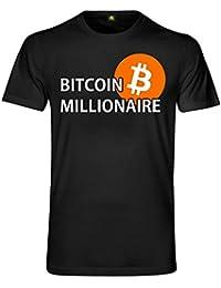d12c170e absenda Bitcoin Millionaire T-Shirt | Millionär | Börse | Stock Exchange |  Krypto Crypto