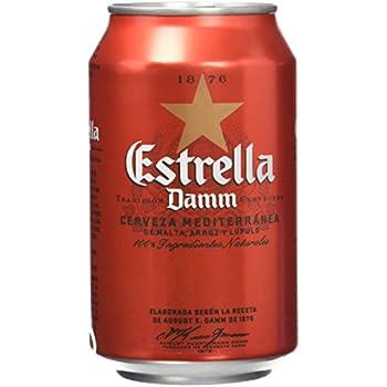 Estrella Damm Cerveza Lata...
