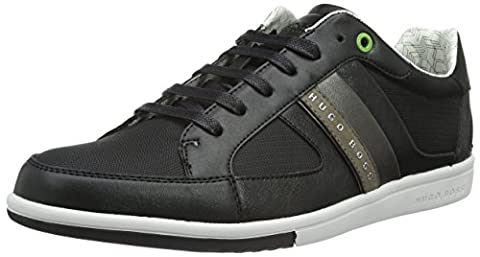 BOSS Green Men's Metro_Tenn_ny 10193636 01 Low-Top Sneakers, Black (Black